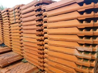 Tweedehands/gebruikte dakpannen geleverd door heel Nederland